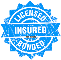 Wyman Plumbing is Licensed, Bonded, and Insured!