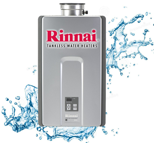 Rinnai Tankless Water Heater Services
