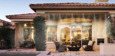 water misting system for outdoors in Arizona