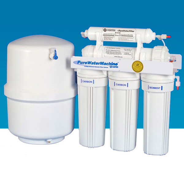 White Reverse Osmosis Purifier System
