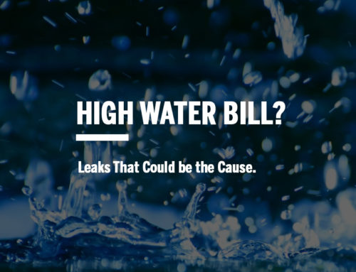 High Water Bill – Leaks That Could be the Cause
