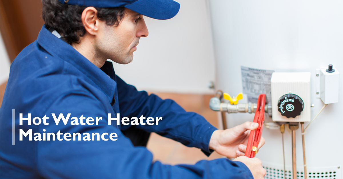 hot water heater maintenance in Anthem, AZ