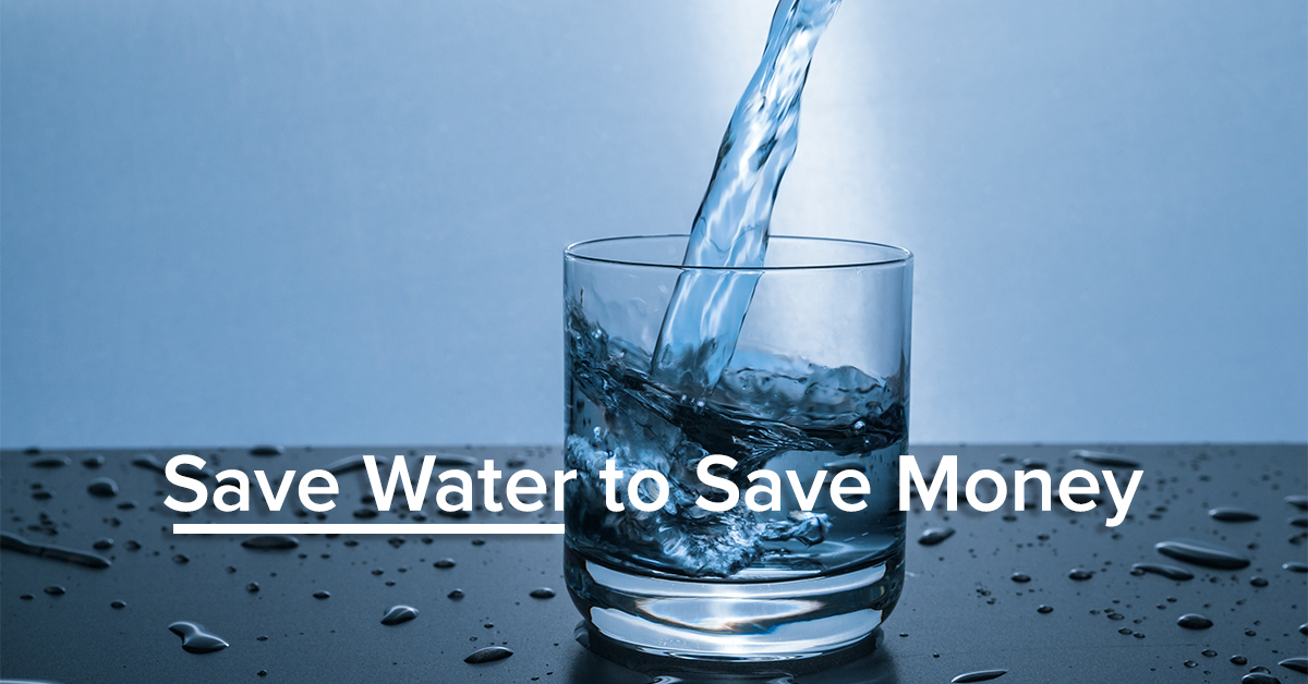 save water to save money on water bills